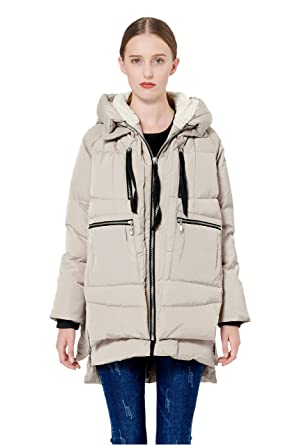 dc1fc9bc052 Amazon.com: Orolay Women's Thickened Down Jacket (Most Wished &Gift ...