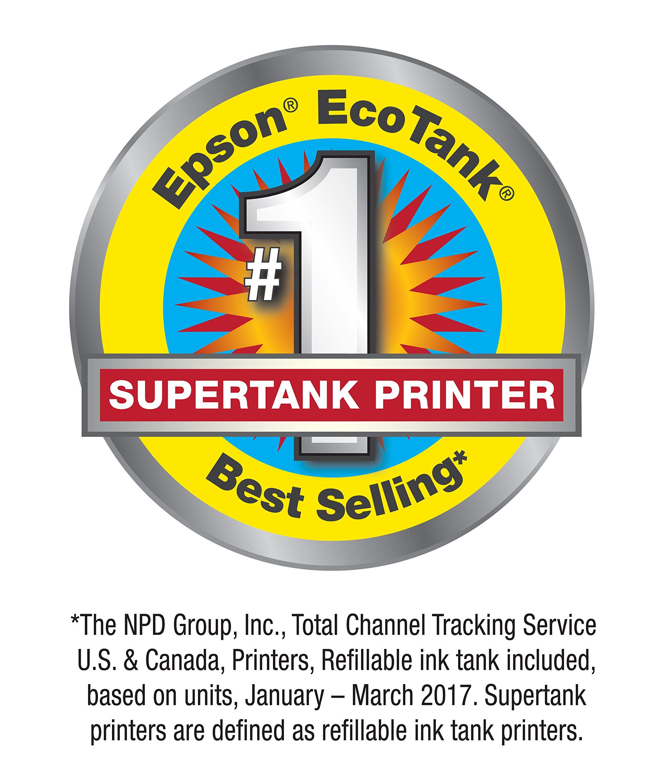 Epson Expression ET-2750 EcoTank Wireless Color All-in-One Supertank Printer with Scanner and Copier by Epson (Image #2)
