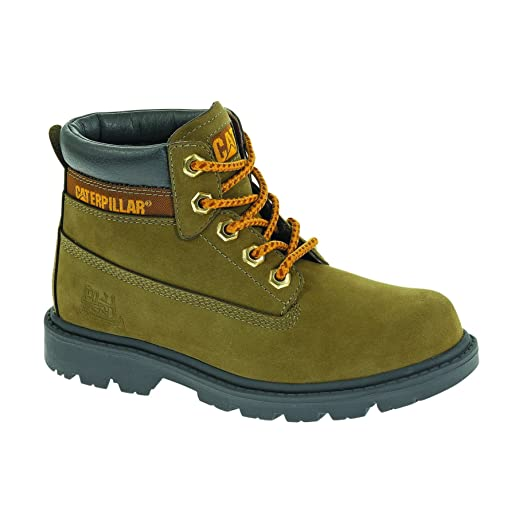 Caterpillar Colorado Kids BootsBoys Boots 7 US Avocado
