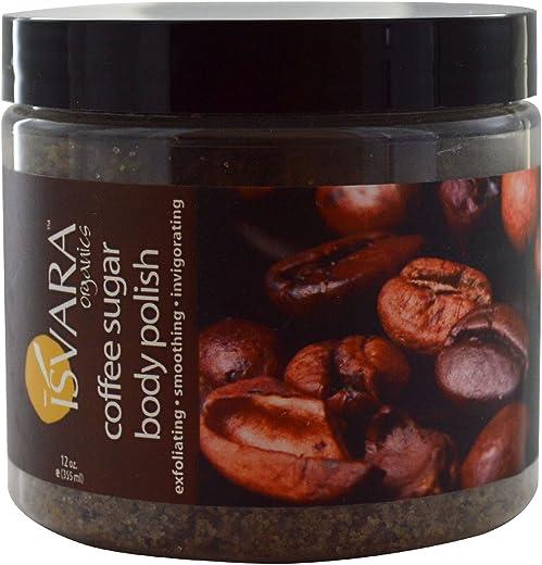 Isvara Organics Coffee Sugar Body Polish, 12 oz (355 ml)