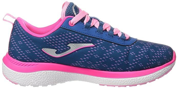 Joma C.KNITRO LADY 603 MARINO-ROSA - Zapatos polideportivas al aire libre para mujer, color marino, talla 36