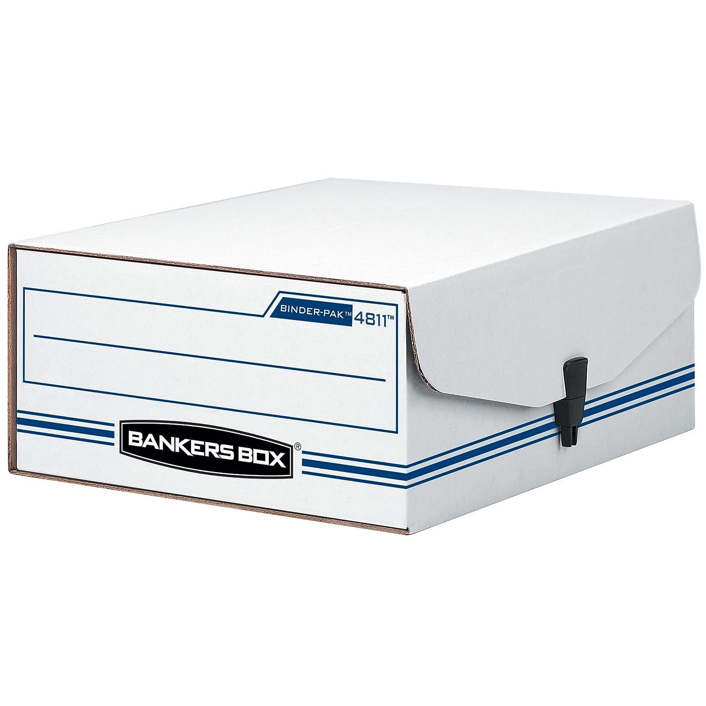 Fellowes Bankers Box Liberty 8 1/4 x 11 x 4 Inch Binder Pak (48110) 48110