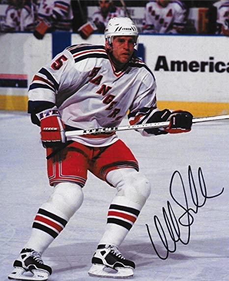 a62040168 Ulf Samuelsson Signed Picture - 8x10 Penguins Whalers - Autographed ...