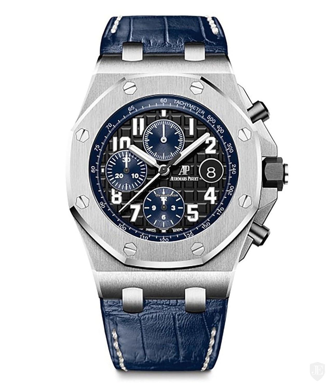 Audemars Piguet Royal Roble Offshore Cronógrafo 42 mm color azul reloj 26470ST. OO. a028cr. 01: Audemars Piguet: Amazon.es: Relojes