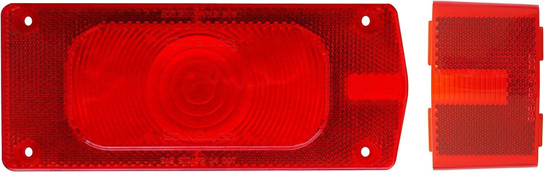 Optronics A36r Rouge Queue et c/ôt/é marqueur Set d/éclairage Objectif de Remplacement