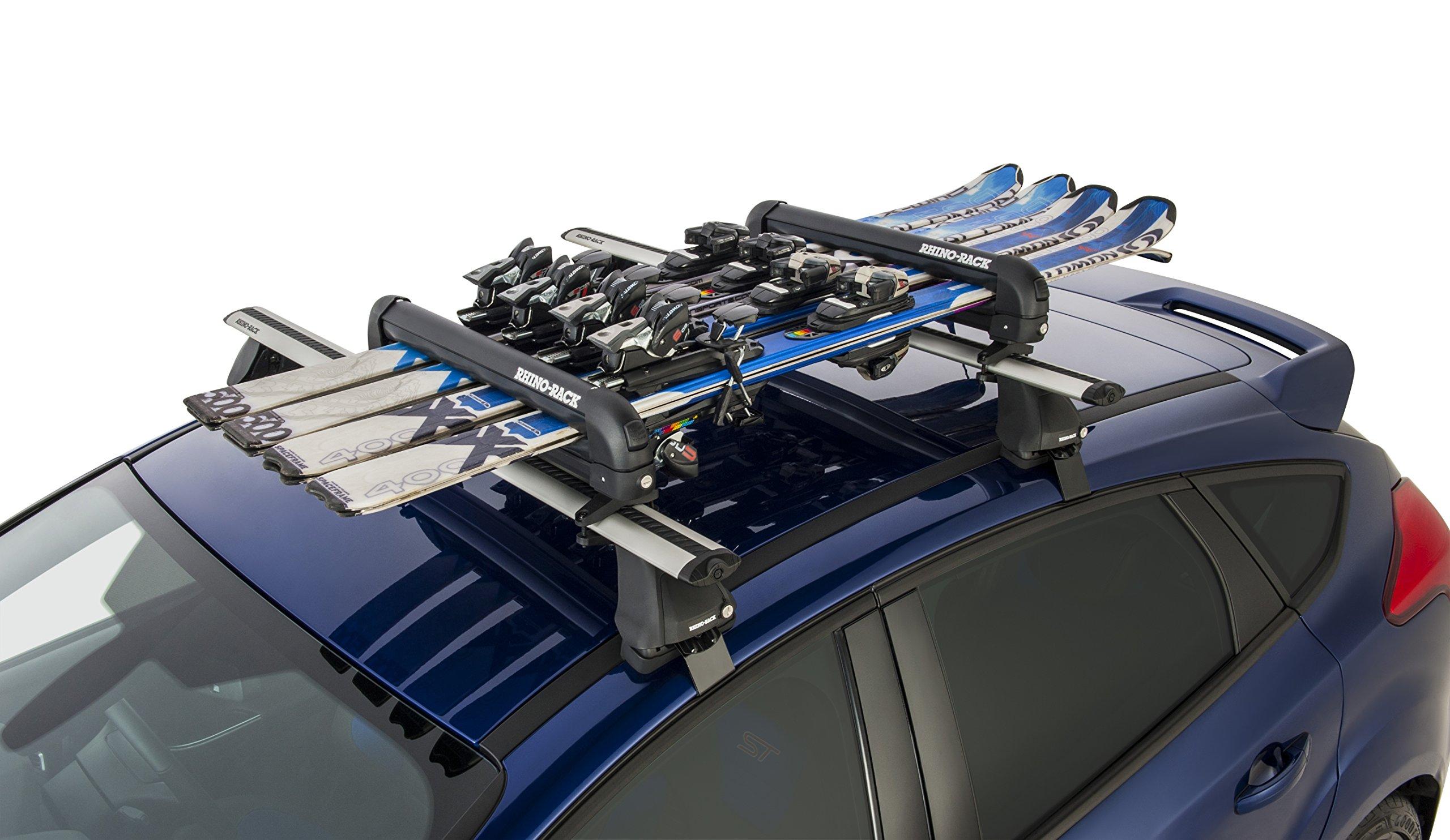 Rhino Rack 574 Ski and Snowboard Carrier - 4 Skis or 2 Snowboards | 574 by Rhino Rack (Image #7)