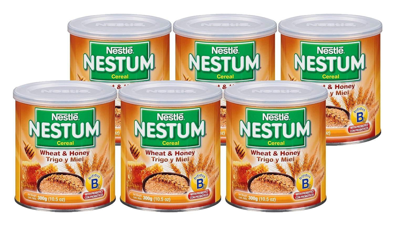 Nestle Nestum Baby Cereal, Wheat & Honey, 10.5 OZ (Pack of 6)