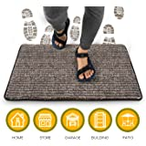 Indoor Doormat Super Absorbent Mud Mat 18 x 30 inch Non Slip Door Mat for Front Door Inside Floor Dirt Trapper Mats…