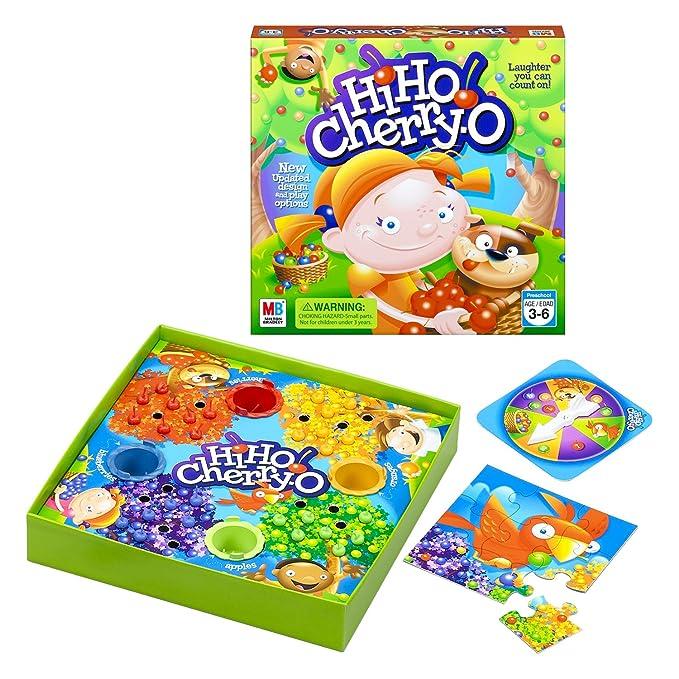 Hasbro Hi Ho Cherry O Juego De Mesa Hasbro Games 44703