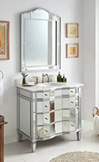 drawers espresso mirrors washing shelf mirror with for and vanity creative bathroom vanities stand