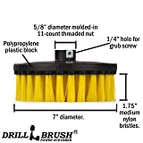 Rotary Polisher Brush - Nylon Bristle for