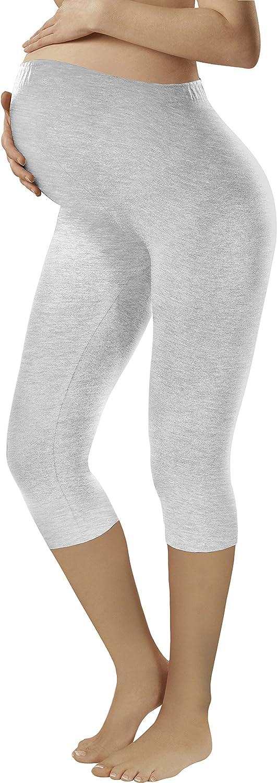 Italian Fashion IF Leggings Premaman 3//4