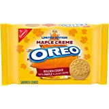 OREO Golden Maple Creme Sandwich Cookies, 1 - 12.2 oz Packs