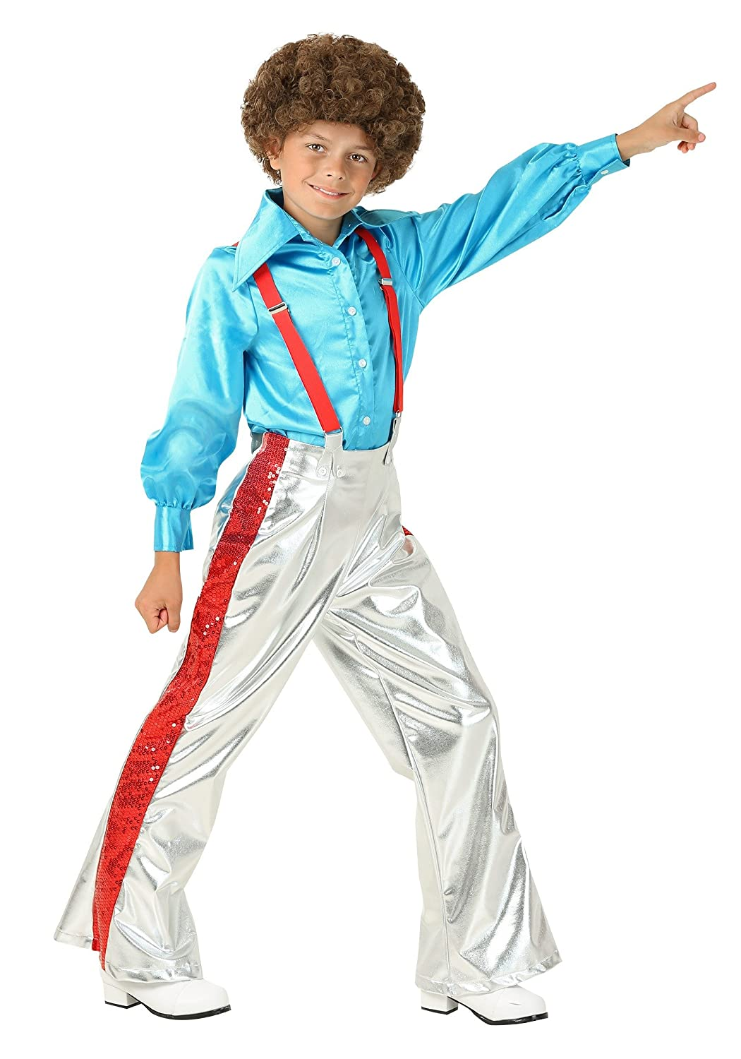 60s 70s Kids Costumes & Clothing Girls & Boys Boys Funky Disco Costume $39.99 AT vintagedancer.com