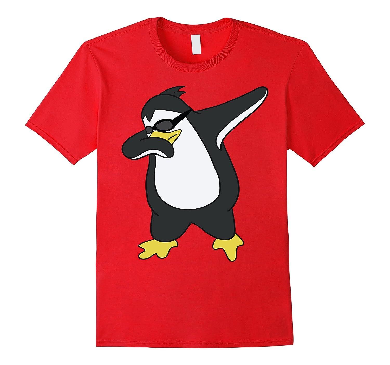 Funny Penguin Shirt - Hip Hop Tee - Dabbing Penguin Tee-PL