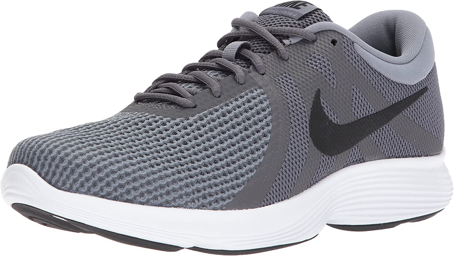 Nike Men s Revolution 4 Running Shoe, Dark Black-Cool Grey White, 10 Regular US