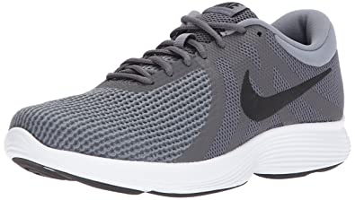 Nike Men s Revolution 4 Dark Grey Black Cool Grey Running Shoe 8. 5 ... 21511be31