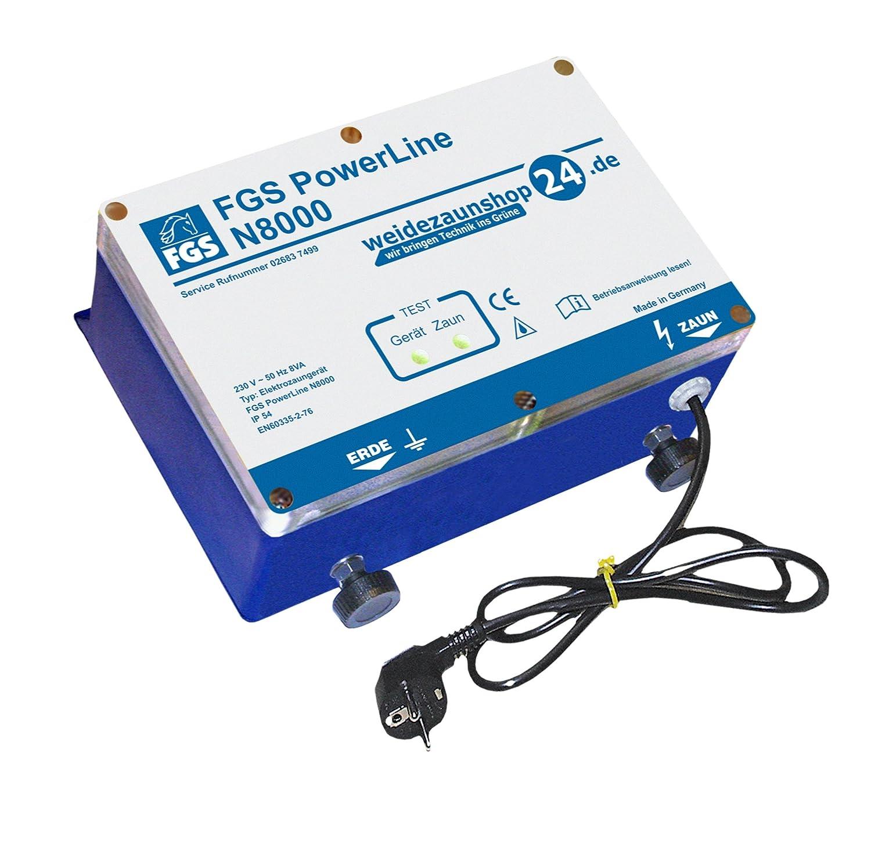 FGS Weidezaungerät Netzgerät Power Line N8000 230V 9,0J Zaunlänge bis 200km