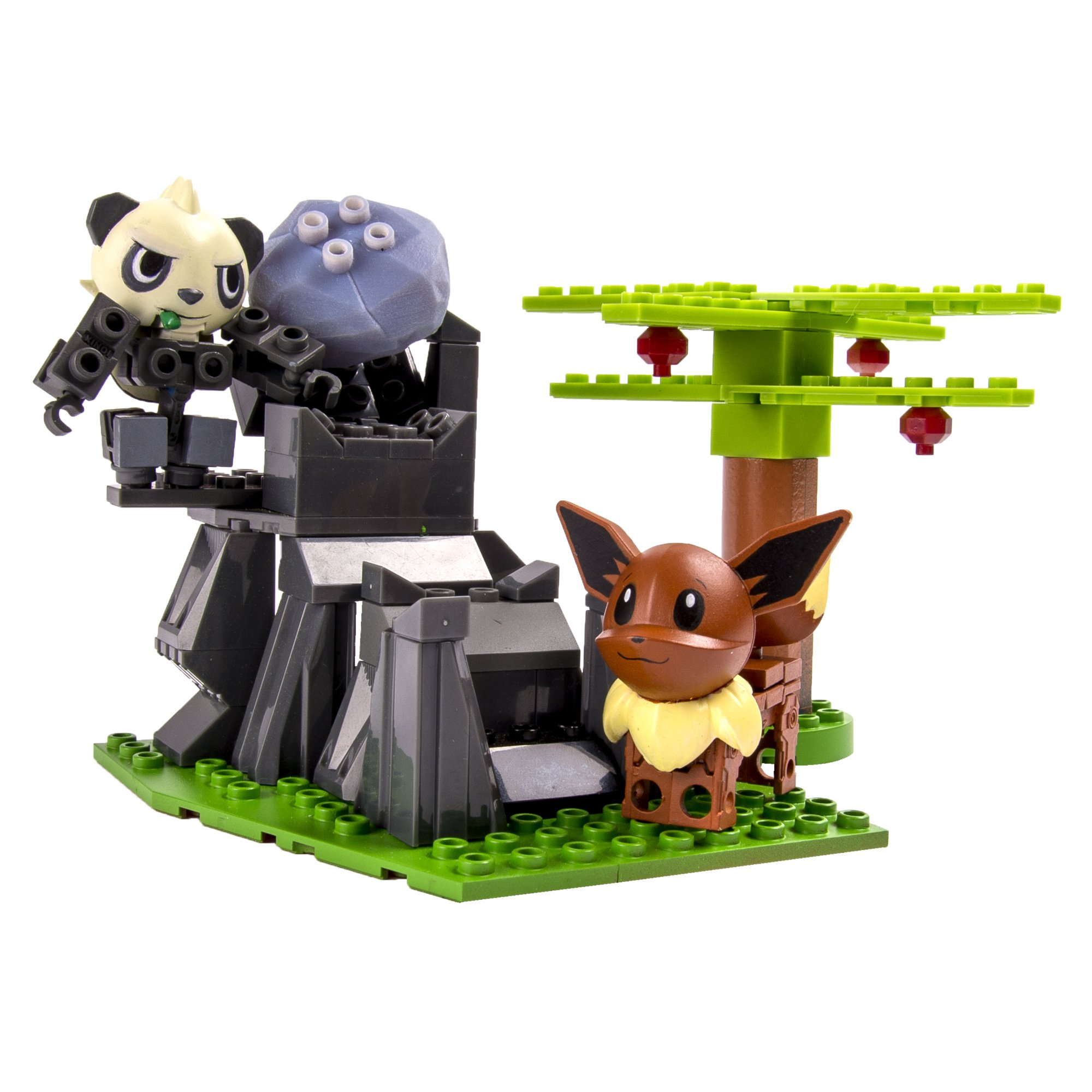 Ionix Pokemon - Pancham Vs Eevee Playset 30701 6