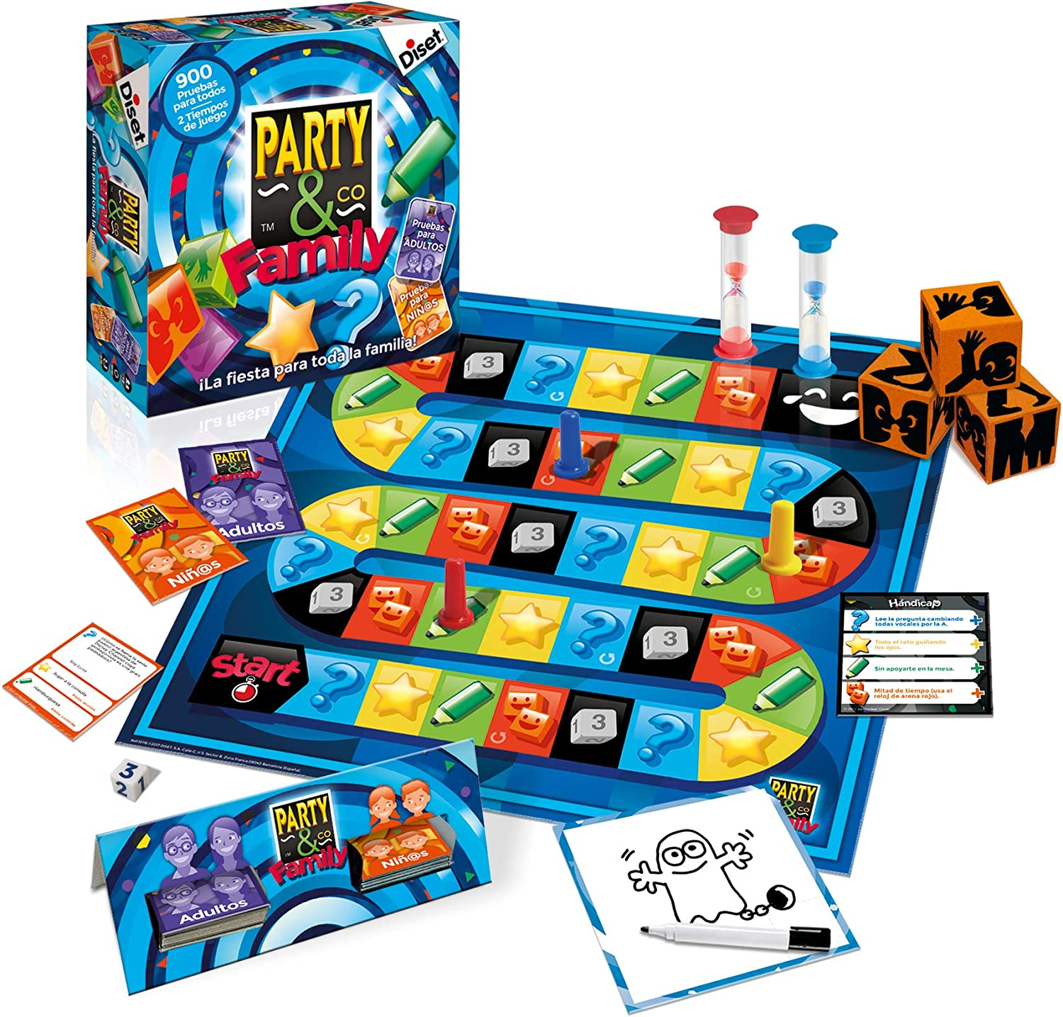 Diset - Party & Co Boing, (ref. 46611): Amazon.es: Juguetes y juegos