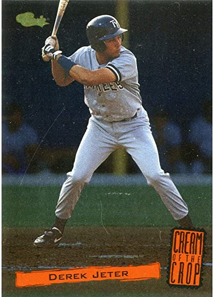 Derek Jeter Classic Cream Of The Crop Rookie Mint Card At