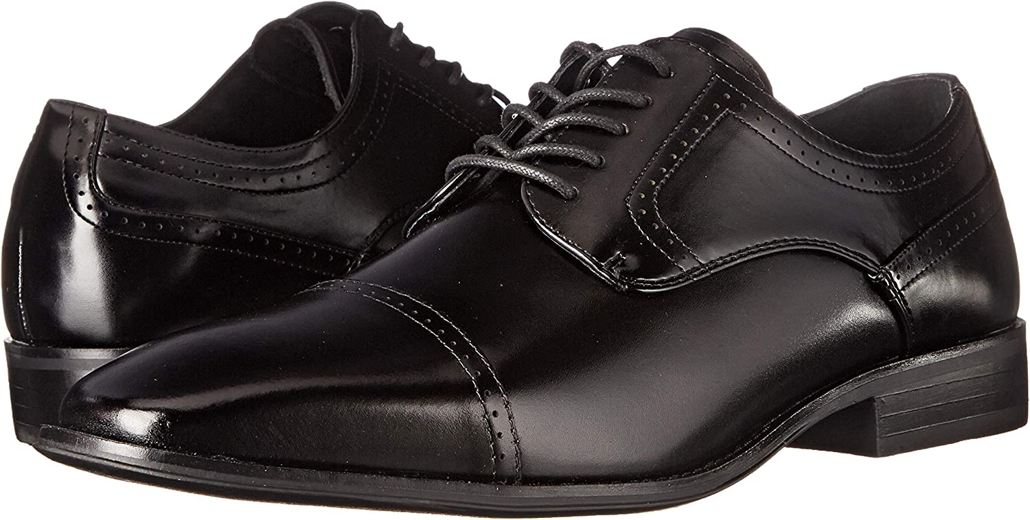Stacy Adams Waltham Cap Toe Oxford Black 20138-001