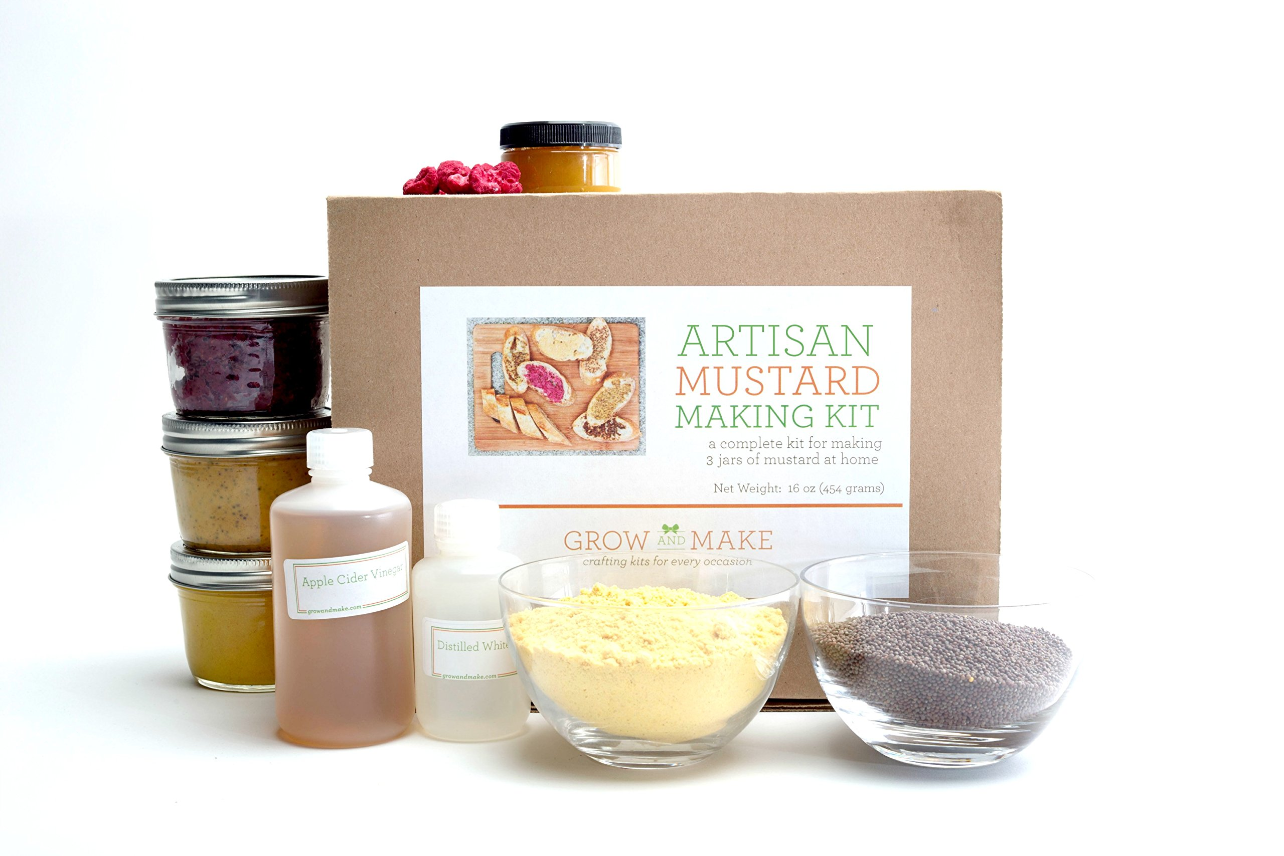 Mustard Making DIY Kit - Learn how to make home made mustard