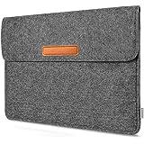 Inateck Tablet Sleeve Carrying Case Compatible 10.5'' iPad Pro & iPad Air 2019(3rd Gen)/11'' iPad Pro 2018/10'' Surface Go/iPad 9.7 inch - Dark Grey