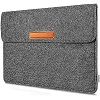 Inateck Hülle Kompatibel 10,5 Zoll iPad Pro/11 Zoll iPad Pro 2018/9,7 Zoll iPad Pro/New iPad 9,7 (2017/2018)/9,7 Zoll iPad Air/10 Zoll Surface Go/Galaxy Tab S Filz Sleeve Ultrabook