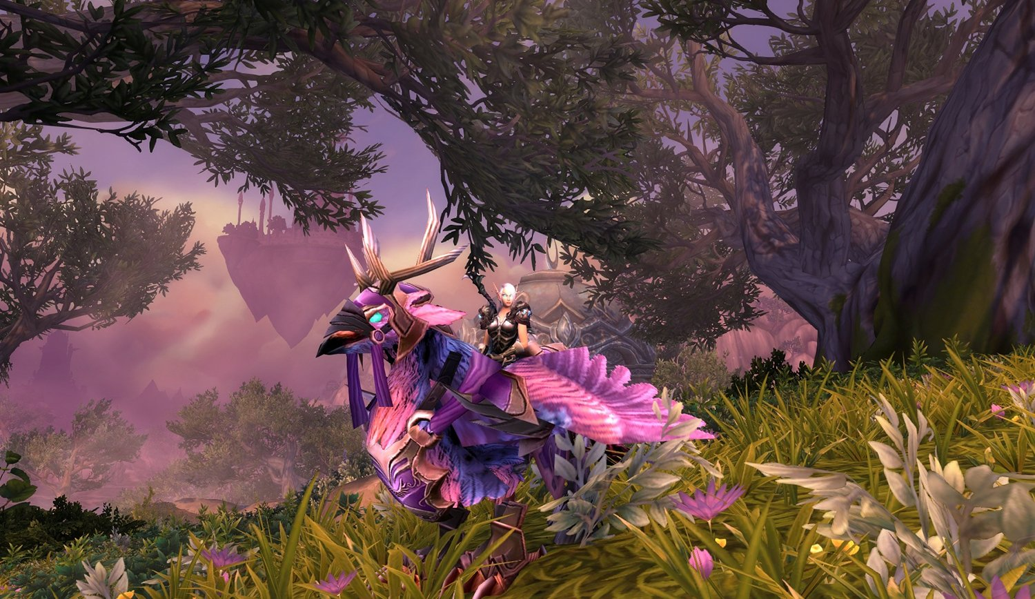 Amazon com: ✓ Long-Forgotten Hippogryph Mount - Patch 7 3 Boost