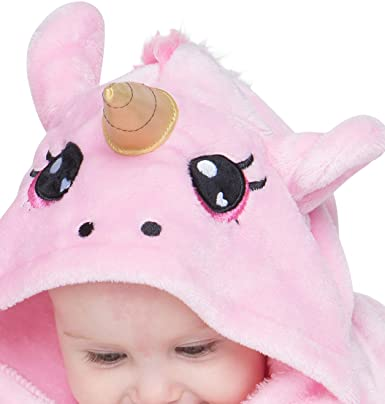 Amazon.com: corimori 1850 Rose The Unicorn Animal Onesie Baby, 3D ...