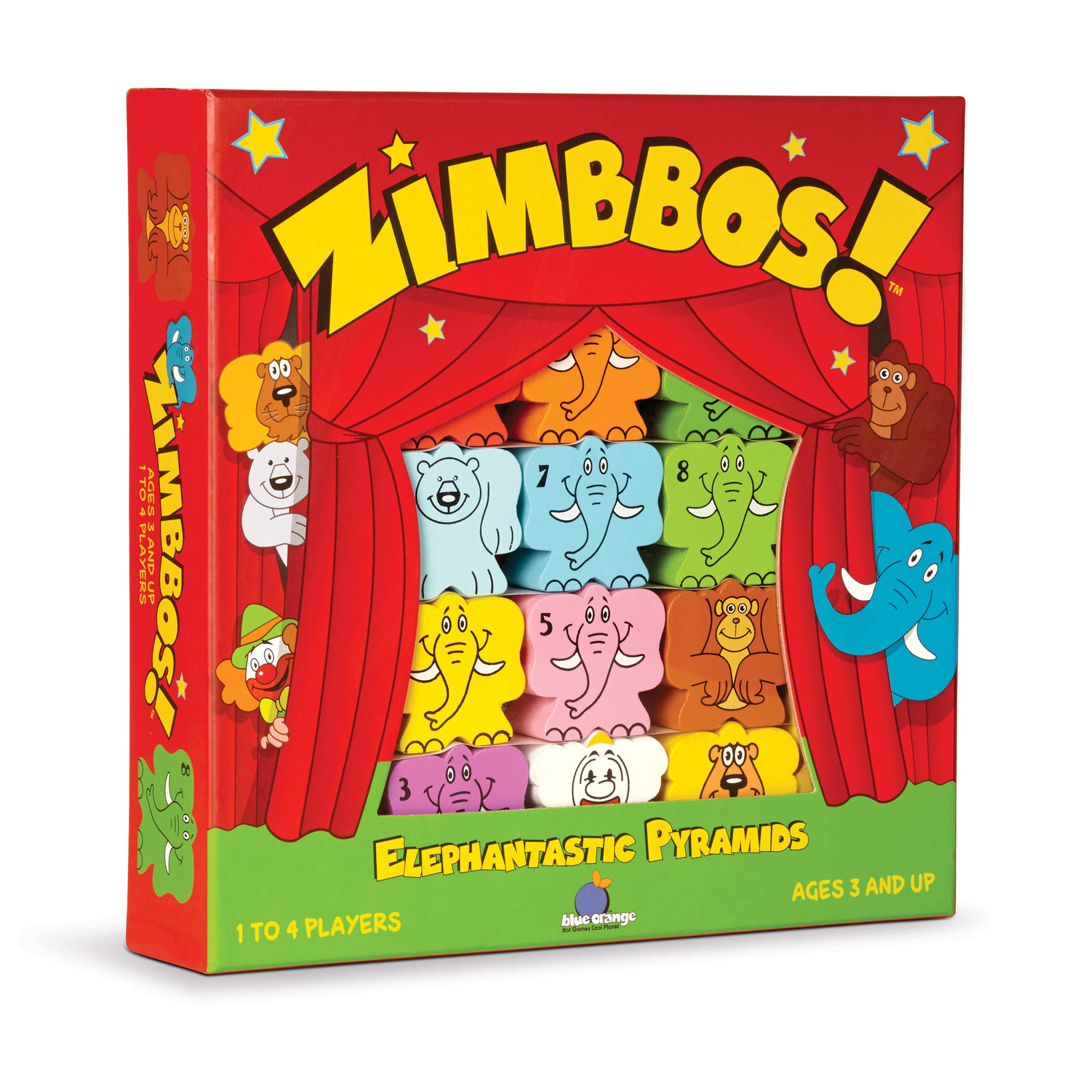 Zimbbos Cardboard Game: Amazon.es: Blue Orange Games: Libros en idiomas extranjeros