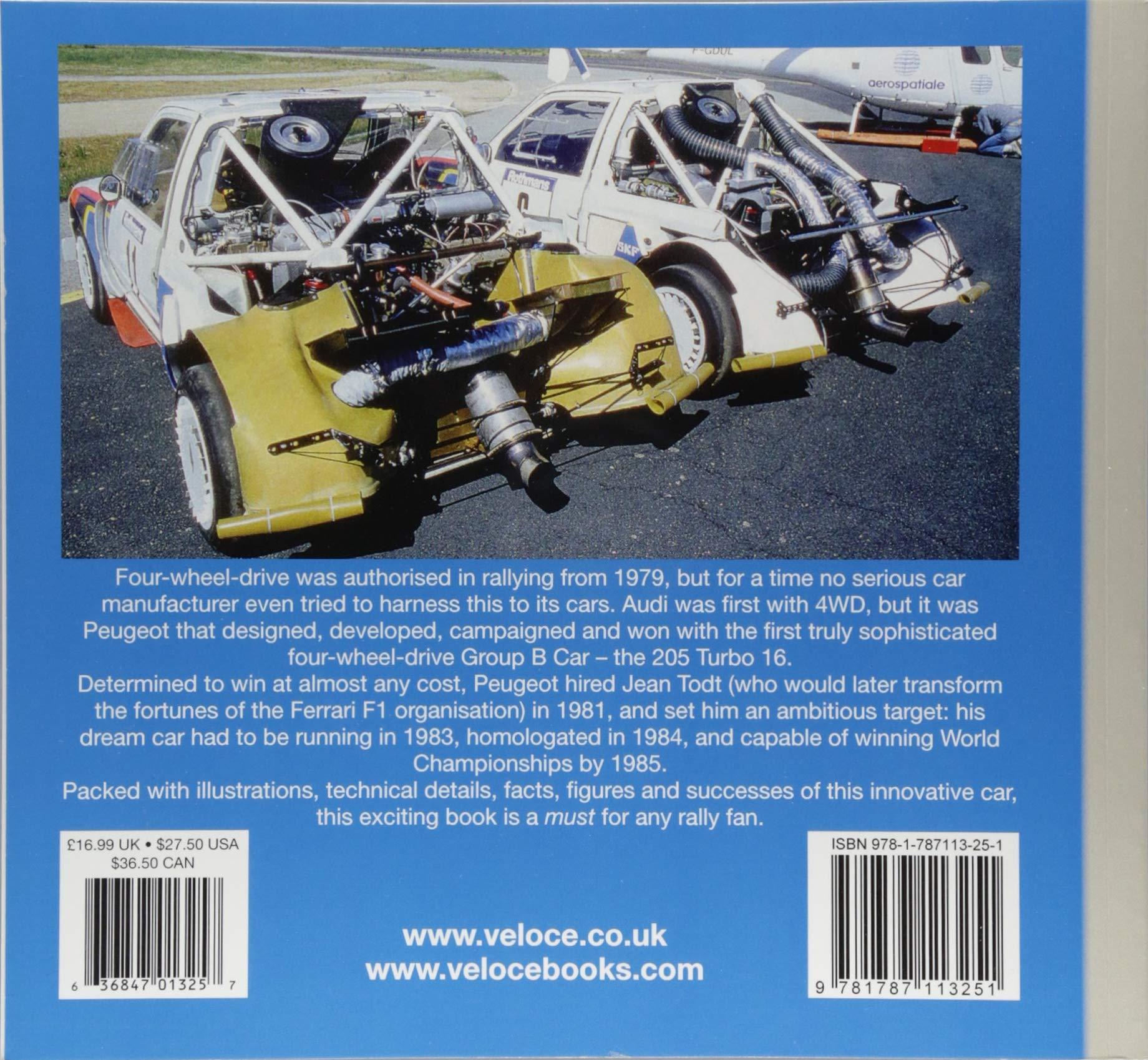 Peugeot 205 T16 (Rally Giants): Graham Robson: 9781787113251: Amazon.com: Books