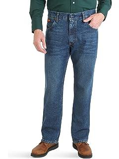 5e9711f4 Wrangler Men's Flame Resistant Original Fit Jean at Amazon Men's ...