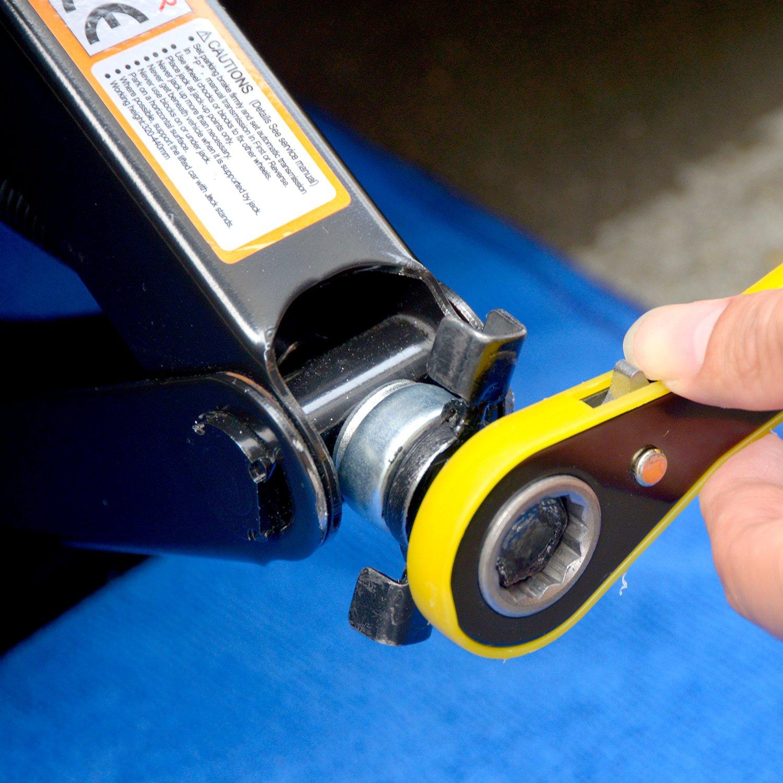 Capacity Saving Strength Design VA005 112C LEAD BRAND Scissor Jack 2 Tons 4,409 lbs