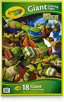 Amazon.com: Crayola Kids Teenage Mutant Ninja Turtles TMNT ...