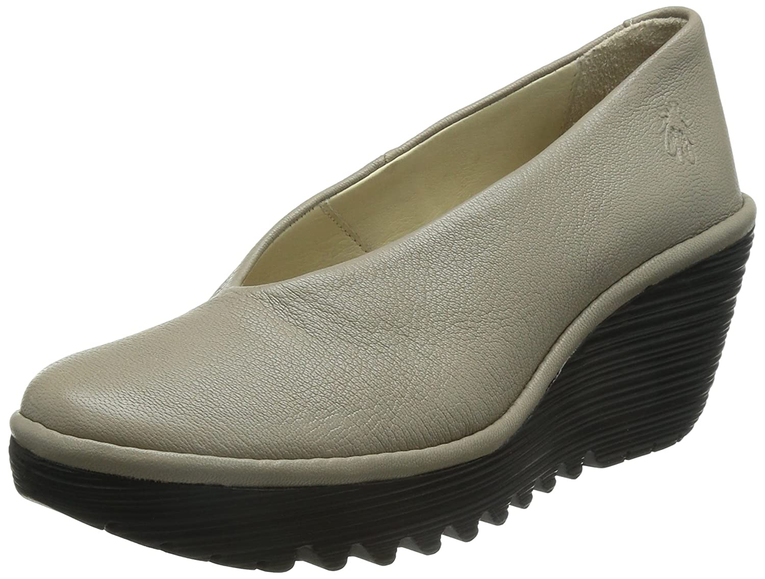 FLY London Women's Yaz Wedge Pump B014UO1BNG 37 EU/6.5-7 M US|Mushroom Mousse