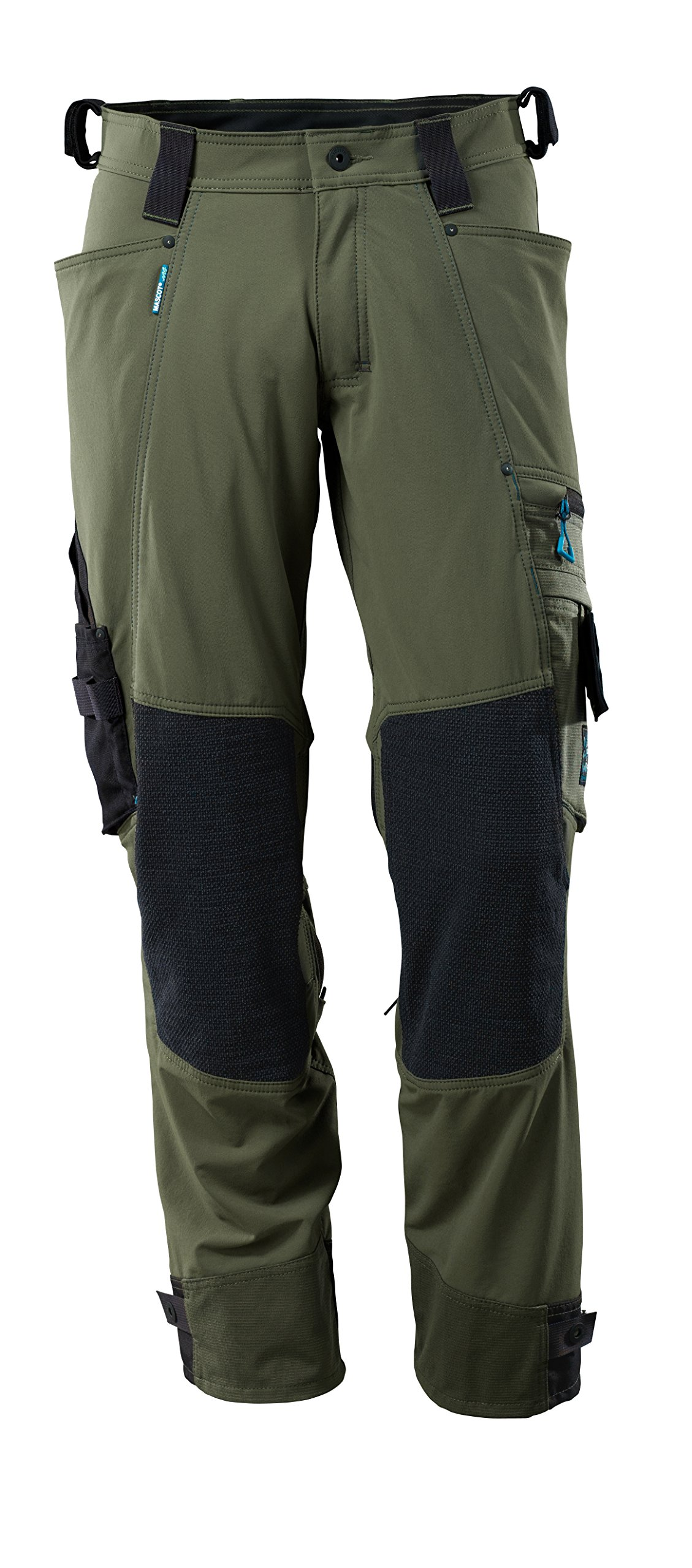 Mascot 17079-311-33-82C48 Trousers Safety Pants, Moss Green, 82C48