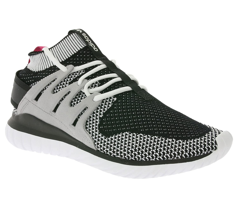 Adidas Tubular Nova PK, Zapatillas de Gimnasia para Hombre, Verde (Olicar/Cblack/Vinwht), 42 2/3 EU
