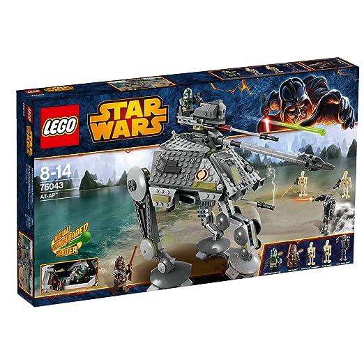 LEGO Star Wars - AT-Ap, Juego de construcción (75043): Amazon.es ...