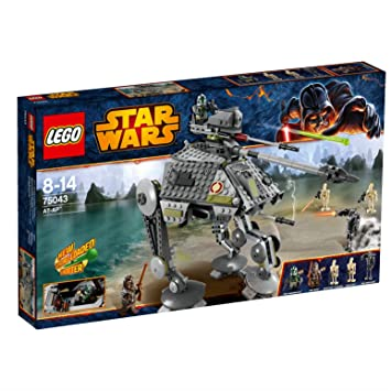 Star Wars LEGO 75043: AT-AP: Amazon.co.uk: Toys & Games