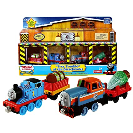 Christmas Train Cast.Amazon Com Fisher Price Year 2011 Thomas And Friends As
