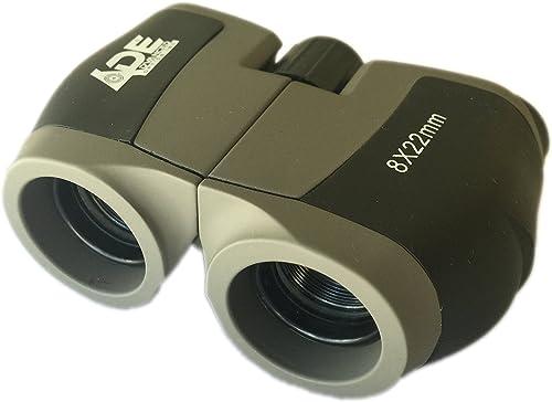 Ade Advanced Optics NU80822 Crusader 8X 22mm Compact Binocular
