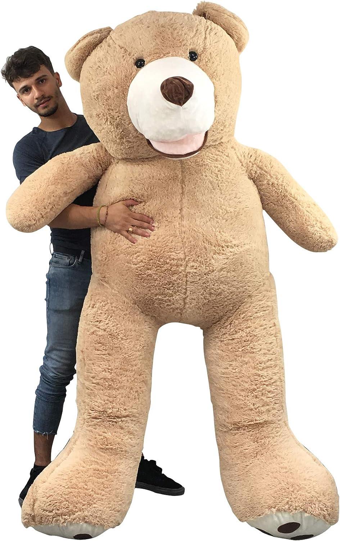 Cadeaux Noel Anniverssaire G/éant Teddy Bear Ours Nounours en Peluche Polaire XXL Jouet Oursons Decor Chambre Enfant Fille Garcon Beige 40CM