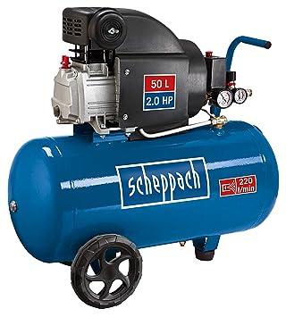 Ganz und zu Extrem Scheppach Kompressor HC54 (1500 Watt, 50 L, 8 bar, Ansaugleistung #XP_62