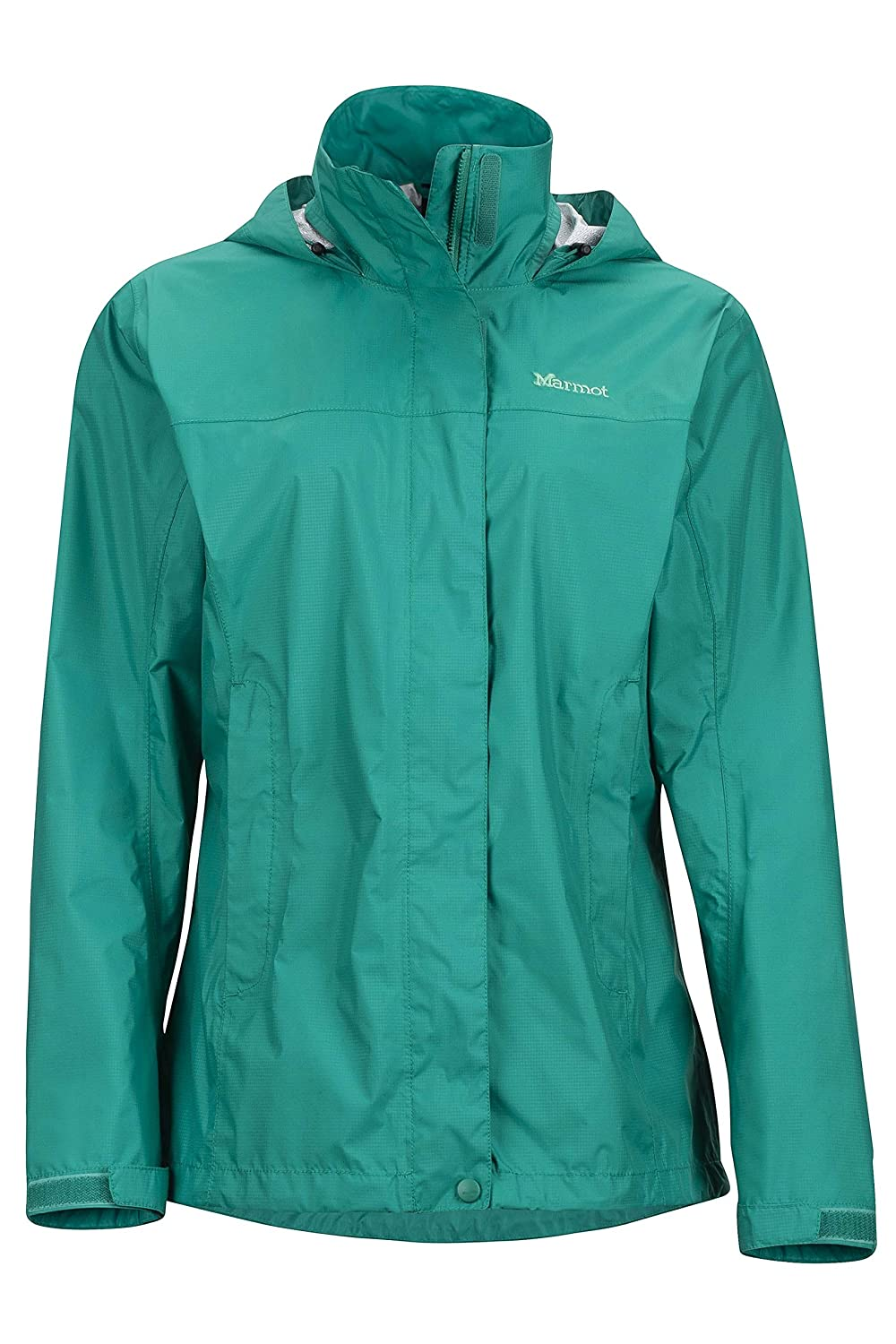 Green Garnet Marmot PreCip Women's Lightweight Waterproof Rain Jacket