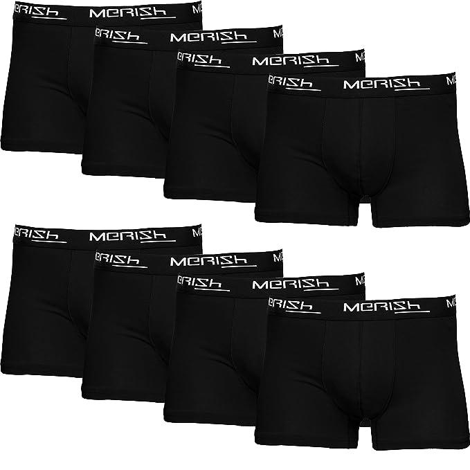 MERISH Boxershorts Men Herren 8er Pack Unterwäsche Unterhosen Männer