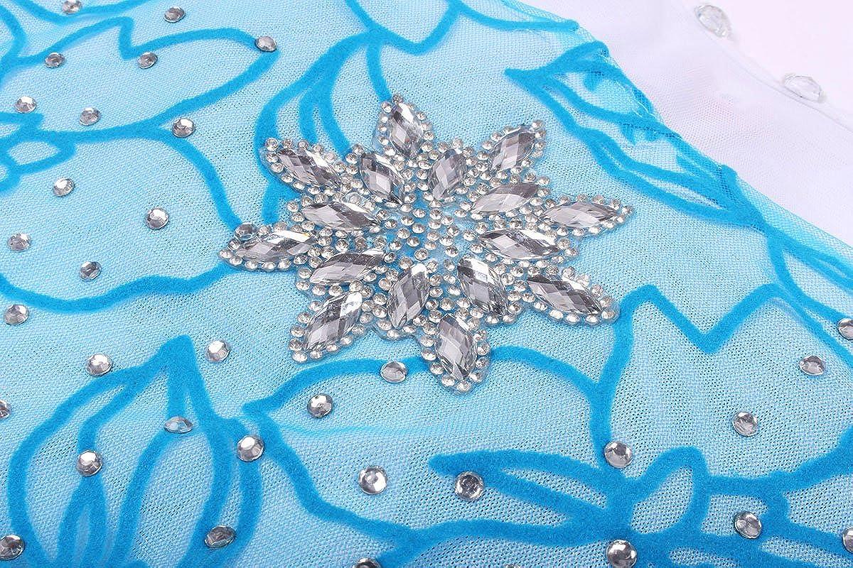 JerrisApparel Costume Cosplay della Principessa Partito Ragazza Vestito Maxi con Il Bello Diamante
