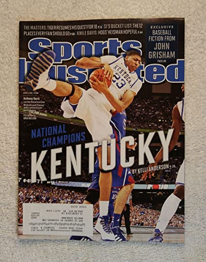 Anthony Davis Kentucky Wildcats 2012 National Champions