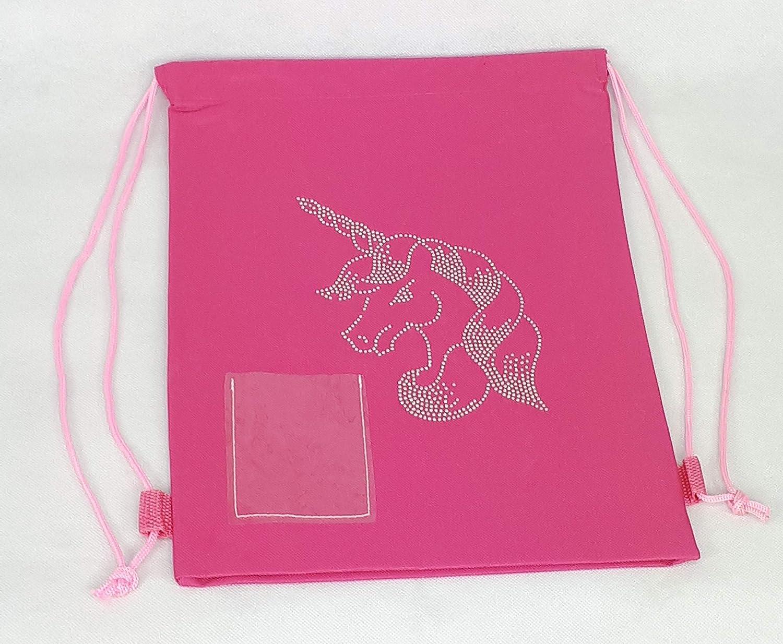 HomeHarmony/® Unicorn Ballet Dance Childrens Back to School Pink Back Pack Bag Gym Bag Back Pack, Ballet Dance